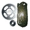 Hongjin Motorcycle Transmissions Part Sprocket and Chain Kit
