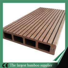 2014 best sale wpc composite decking solid bamboo material