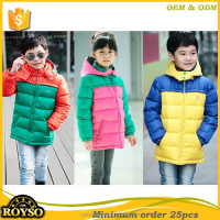 Wholesale Teen Children's Brand Boutique Clothing for Boys Girls Clothing Cheap China Factory USA Style Kids 80%Duck Down Jacket