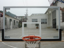 Tempered Glass Aluminum Basketball Board, Acrylic Aluminum Basketball Board
