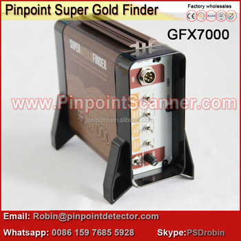 super gold finder GFX7000 Underground gold detector automatic gold detector