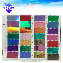 PET 14-26micron 3M quality window rainbow iridescent film for car wrap vinyl