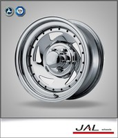 high quality 16x7 inch silver trailer wheel