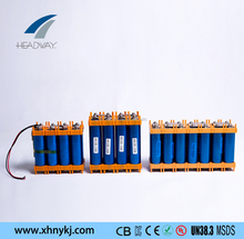 headway 36v 48v lithium ion battery 10ah for e-scooter