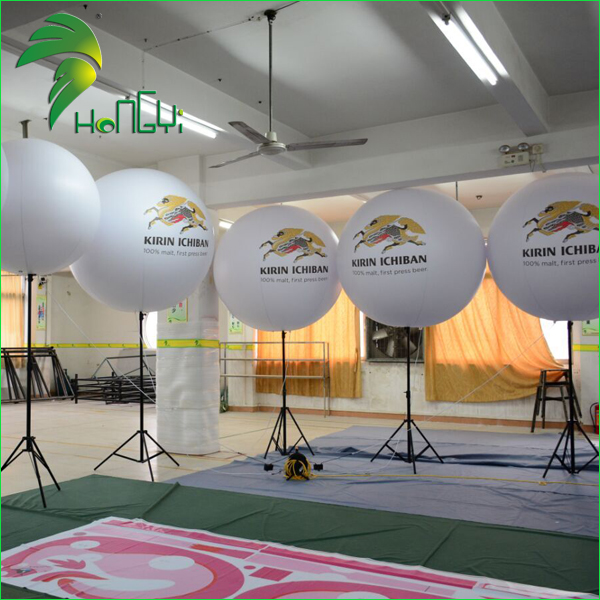 Hot Sale LED Inflatable Tripod Ball / Light Inflatable Stand Balloon For advertising