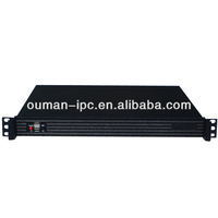 1U 19 Inch Network Security Firewall Computer Server Chassis