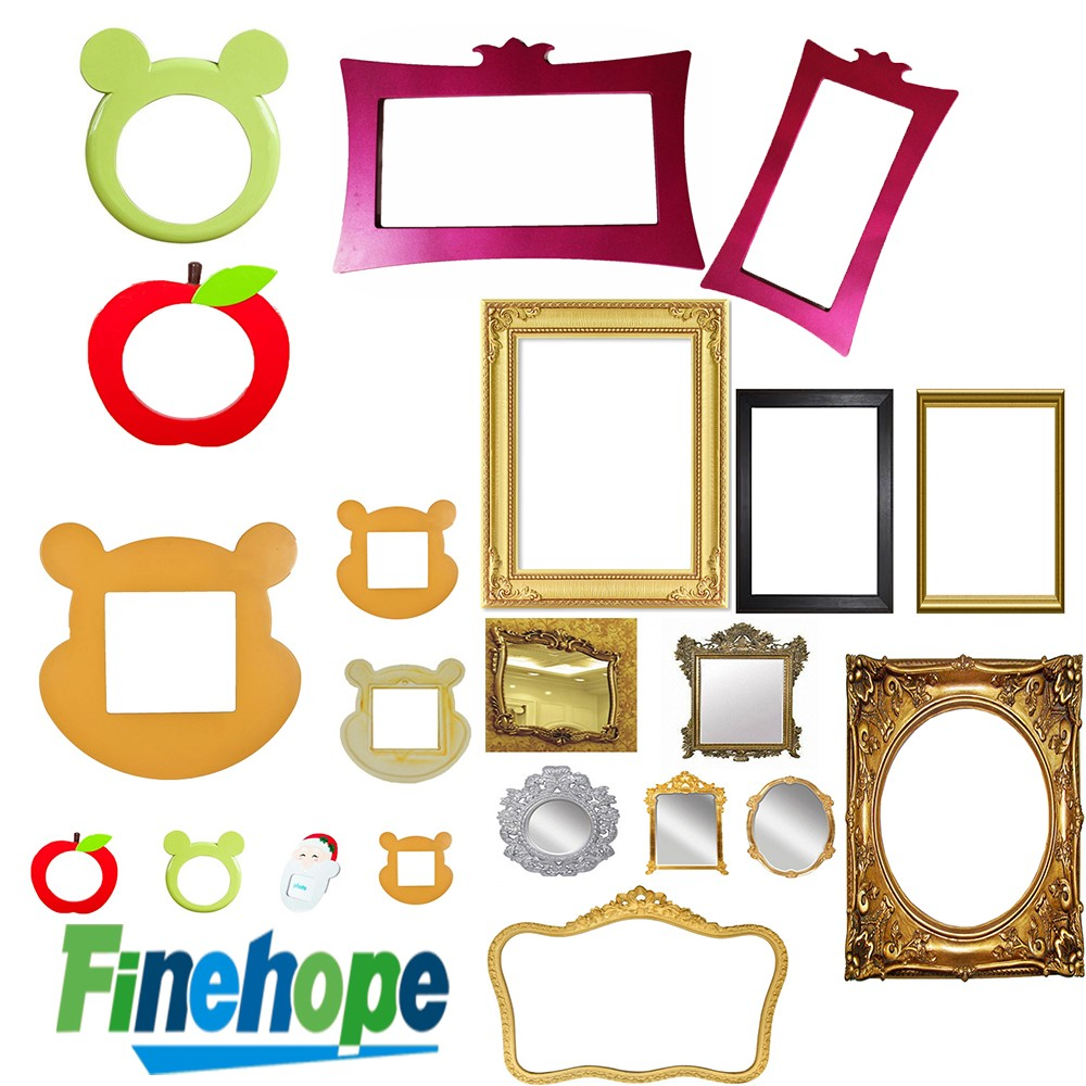 Customize Polyurethane OEM High quality best sale pu photo Picture Frames for Canvas Art