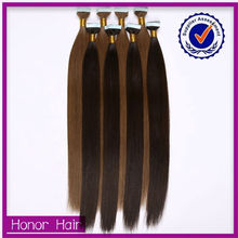 Super Quality From Malaysia 100% Sliky Straight Tape Hair Cheap Virgin Malaysian Hair