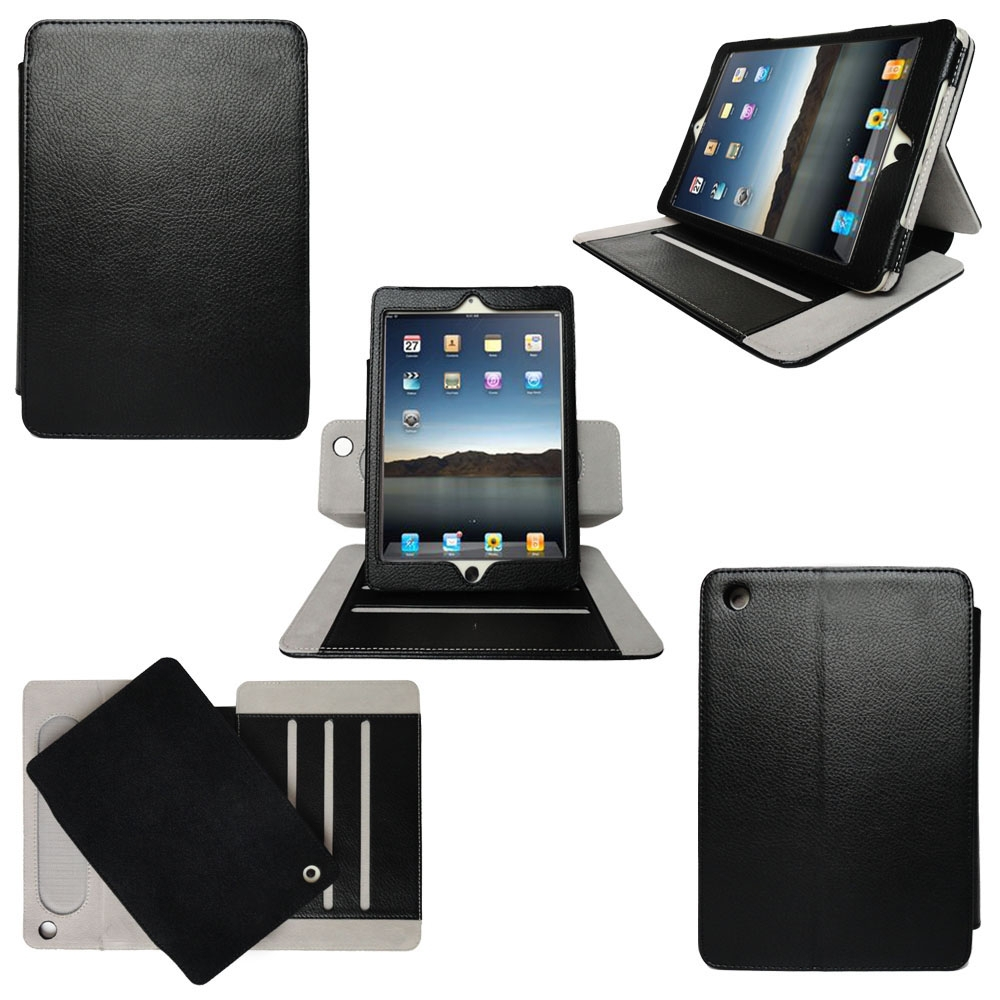 New Product 360 Degree Rotation Cover Shockproof Tablet Flip Cover For iPad 2/3/4