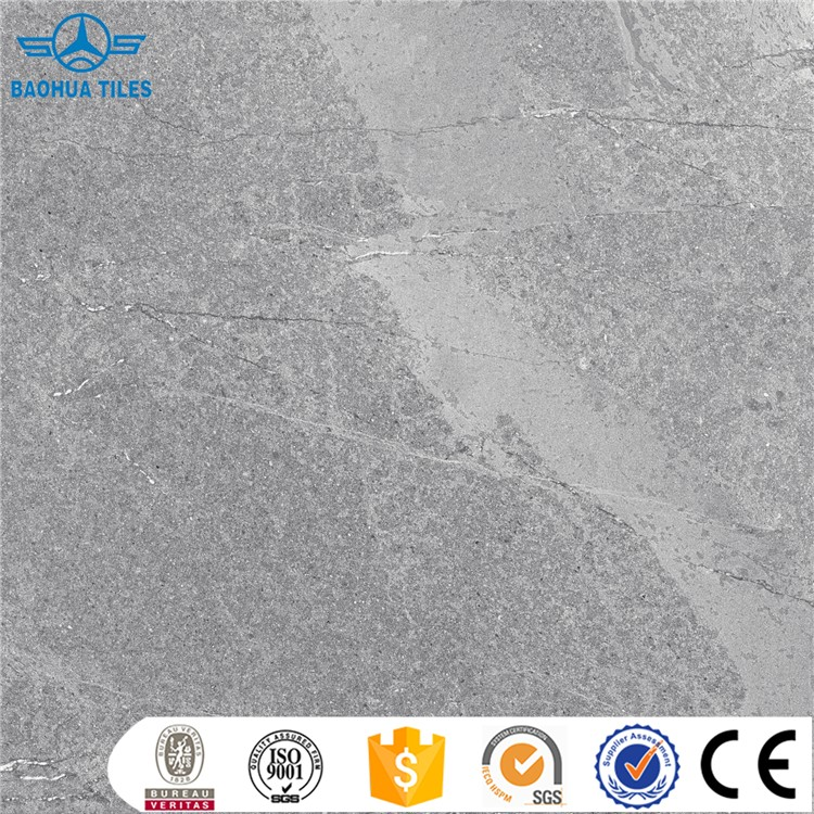 Hot sale grey porcelain tile for bathroom tile designs floor tile