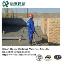 HT cellular lightweight concrete construction board