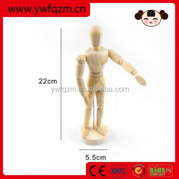 High quality wooden custom ball jointed dolls