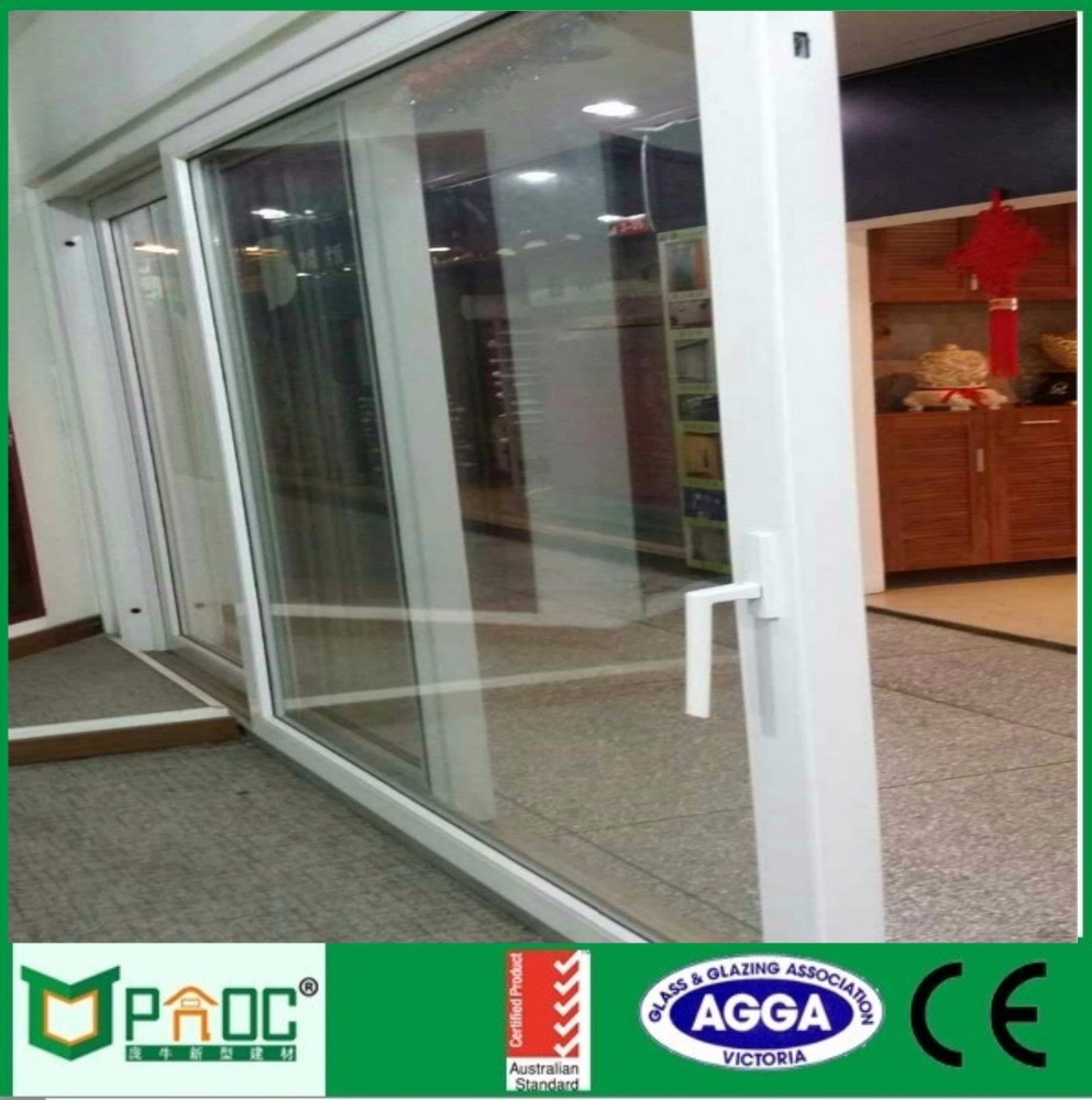 Glass panel sectional electric garage aluminum glass front doors