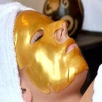 Gold bio-collagen facial mask 100% pure collagen mask crystal collagen face mask