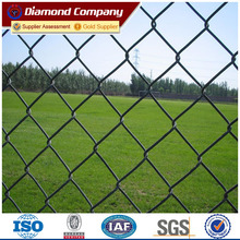9 gauge chain link fence 8ft highx25ft rolls for football field