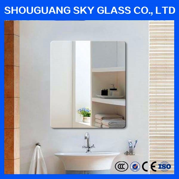 4mm furniture etc,Decorative,Decoration small beveled mirror with cheap price
