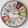 Popular Classical Round Wood Crafts Wall Clock