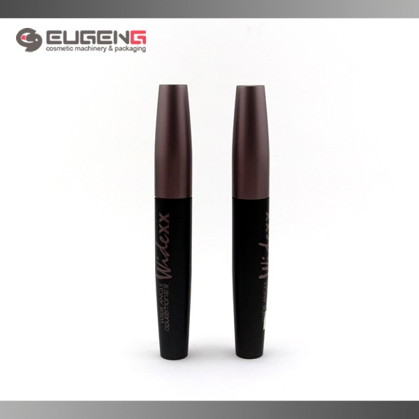 Chubby round cosmetic metal mascara bottle
