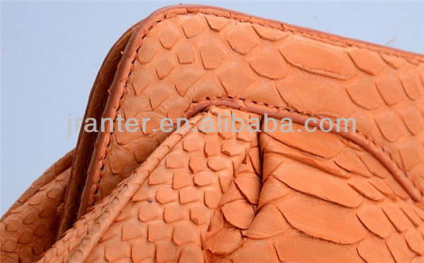 Genuine Python Snake Skin Ladies Clutch Bag Wholesale Made in China