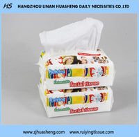 pure cotton soft extractable dry tissue