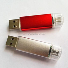 hot new fashional style high quality otg USB flash drive/andriod usb drive/mobile phone usb flash drive for pormo giftsLFN-OTG2
