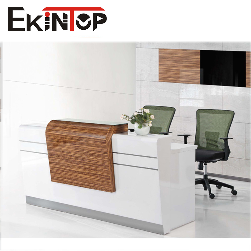 office furniture curved reception desk used reception desk. Black Bedroom Furniture Sets. Home Design Ideas