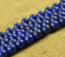 10mm round shape dark bule fashion strand with lapis lazuli