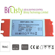 PF(>0.9) Triac dimmer led driver Design for Indoor Long Life