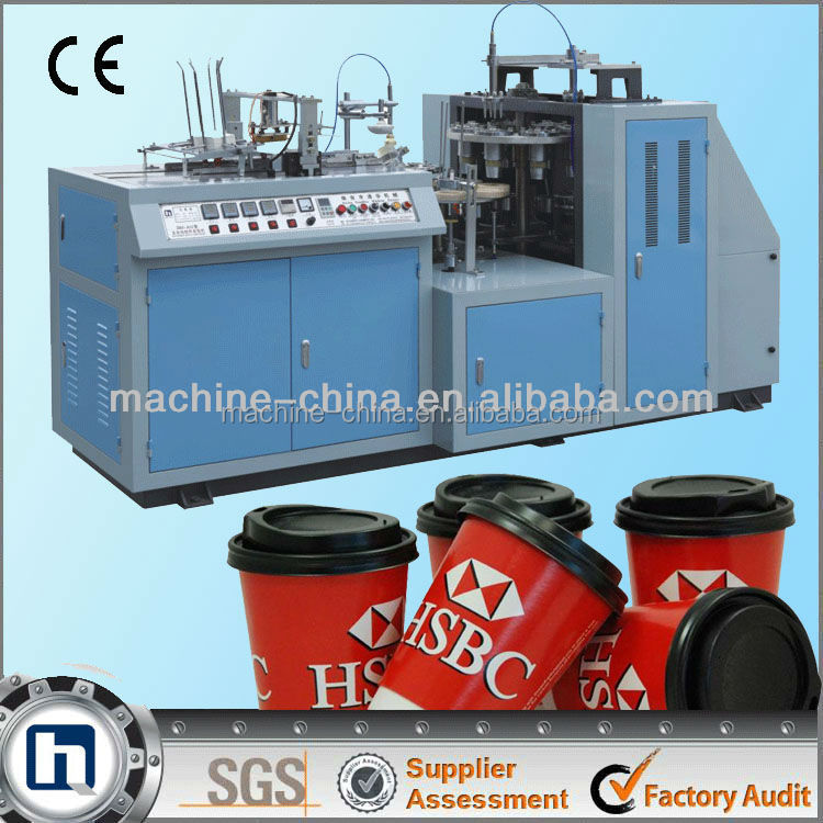 efficient ZBJ-A12 disposable cup making machine
