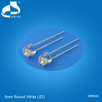 Warranty 2 Years super bright super bright 5mm flat top led