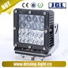 New led auto work light 4D 60W cree led vehicles work light square led work light automotive lamp