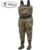 Men's Camo Breathable Fishing Insulated Bootfoot Chest Waders