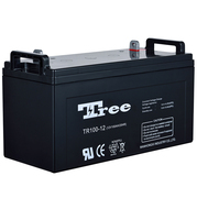 Free maintenance Accumulator battery AGM Sealed Lead Acid Battery 12V 100AH Accumulator