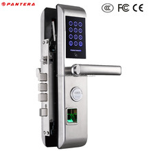 Semiconductor Reader Piano Baking Painting Keypad Hotel Door Lock for Middle East