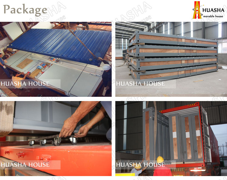 Aluminium profile easy assembly structural design of small houses