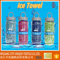 Hot sale very cool magic ice bath towel for hot weather