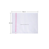 70gsm white color sock mesh laundry washing bags