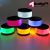 Nylon Material Flashing Slap Wristband Night Safety LED Slap Armband