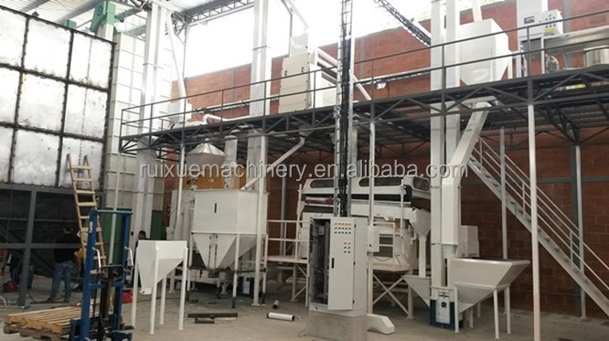 wheat rice seed cleaning grain coffee cocoa bean processing plant