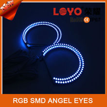 New Colorful smd angel eyes5050 E36/E46 red green and blue rings rgb angel eyes
