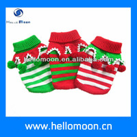 HelloMoon Holiday Pet Warm Clothes Colorful Christmas Pet Sweater Dog Sweaters