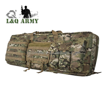 1000D Nylon Military Gun Holder with Mag Pouch