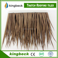 Gazebo artificial decoration synthetic thatch roof tiles thatch roofing tiles