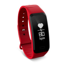 touch screen sleep blood pressure oxygen heart rate monitor band fitness tracker with SDK
