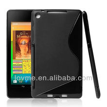 TPU SOFT COVER S SHAPE GEL SKIN CASE ACCESSORIES FOR Asus Google Nexus 7 2nd Gen Tablet