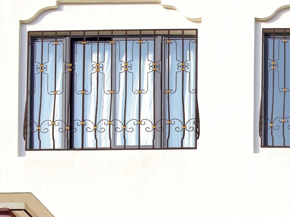 Simple Steel Window Grill Design Inside Usa