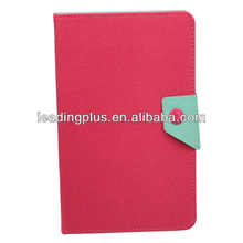 Factory Price High Quality Mix Color Book Design Leather Case for iPad Mini