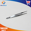 Professional factory high quality products stainless steel tweezer set