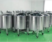 Guangzhou Desheng manufacture GMP Stainless Steel milk butter oil Storage Tank