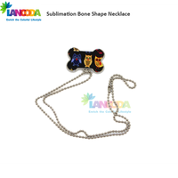 Fashion Sublimated Dog Tag Pendant